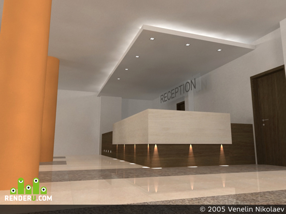 preview hotel's foyer