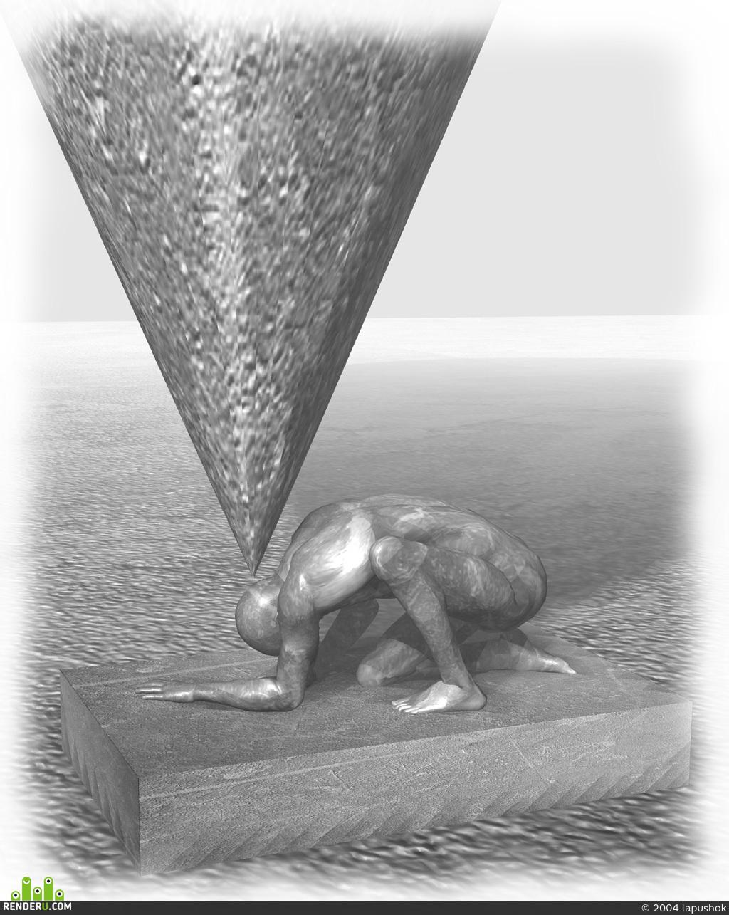 preview Ода о похмелье (эскиз монумента)