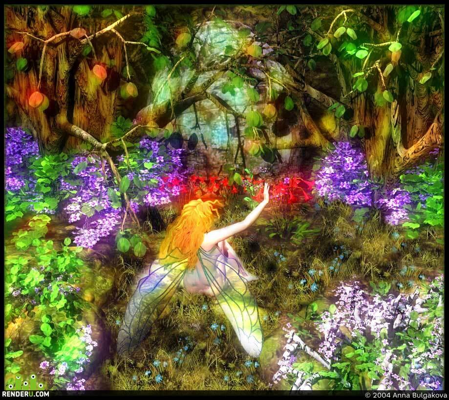 preview сказочный лес...