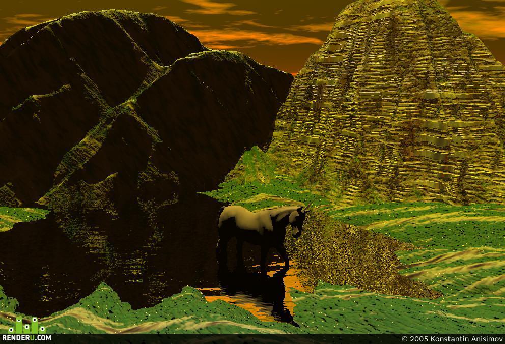 preview Tаинственное озеро или Единорог