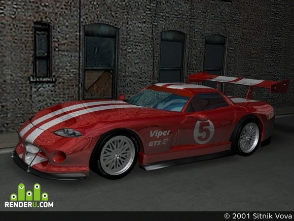 preview Dodge Viper GTS/R