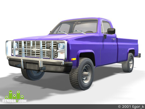 preview Chevy truck model