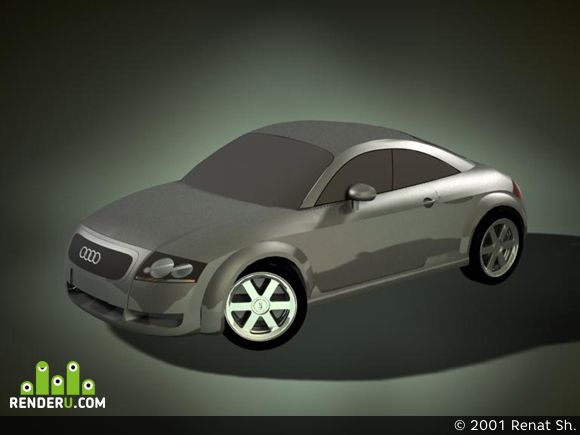 preview Audi TT *Coupe*