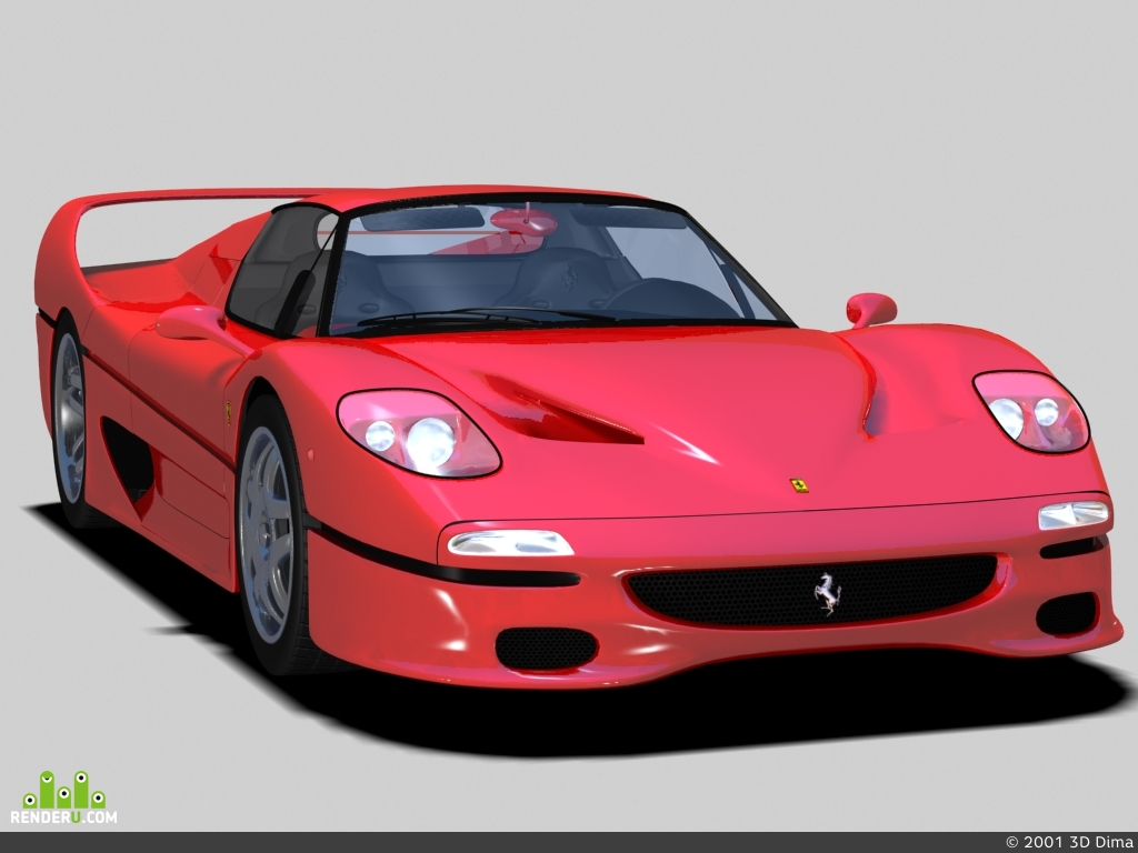 preview Ferarri F50