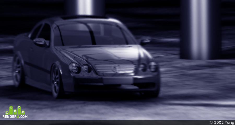 preview Mercedes cl500 2002