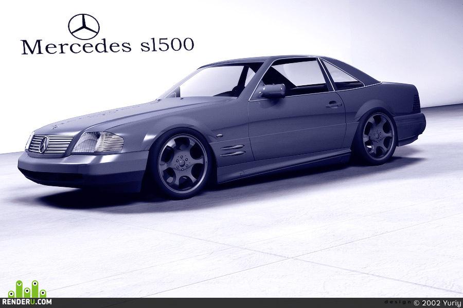preview Mercedes sl500 2002 original