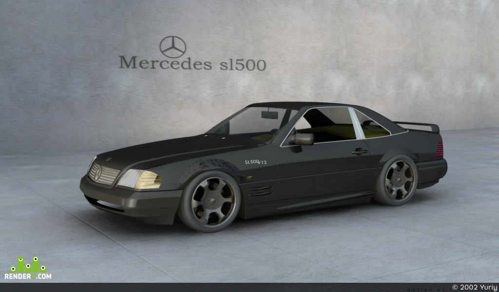 preview Mercedes SL500 release 2002
