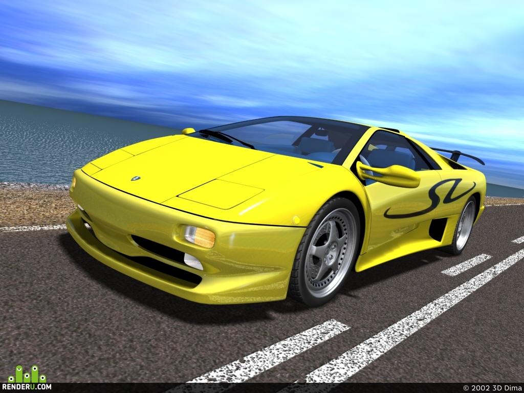 preview Lamborghini Diablo SV