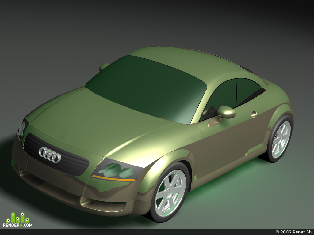 preview Audi TT-Coupe