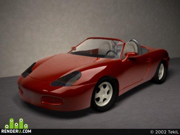 preview Porsche Boxter