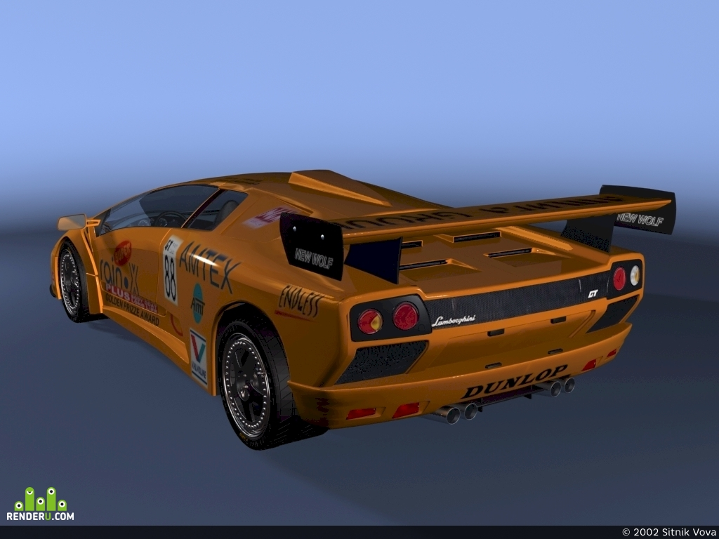 preview Lamborghini Diablo GTR