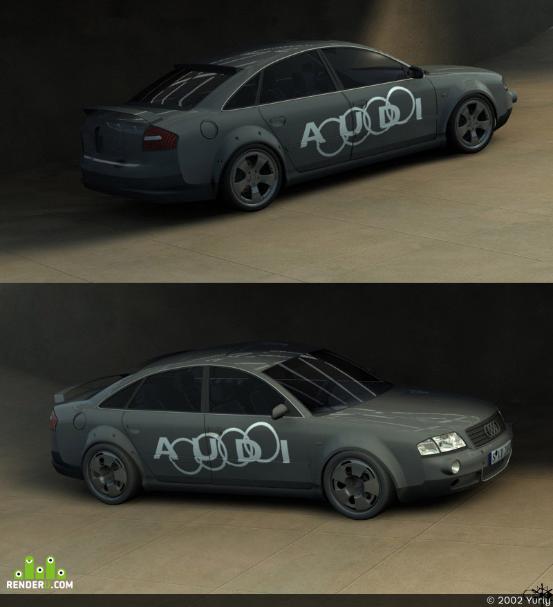 preview Audi A6/tunning