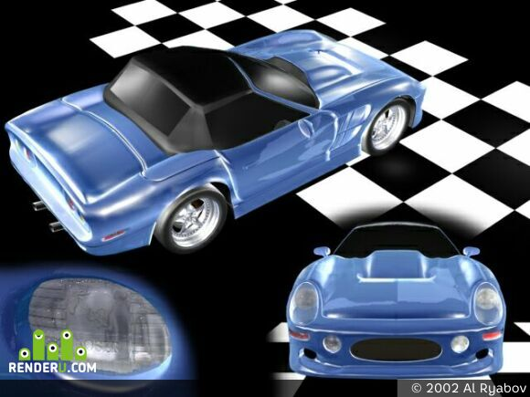 preview Shelby Mustang 2000 Series