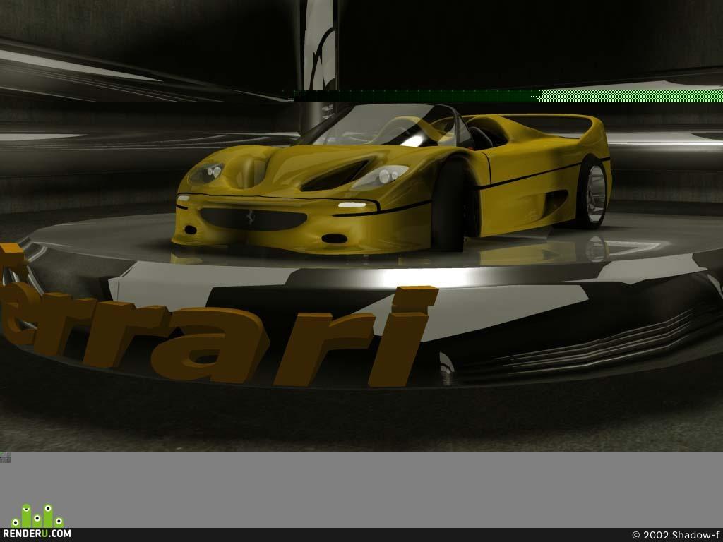 preview Ferrari F-50