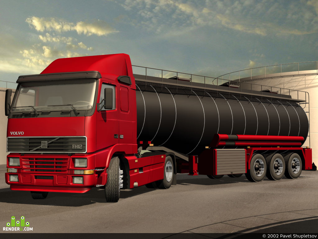 preview Volvo FH12 420