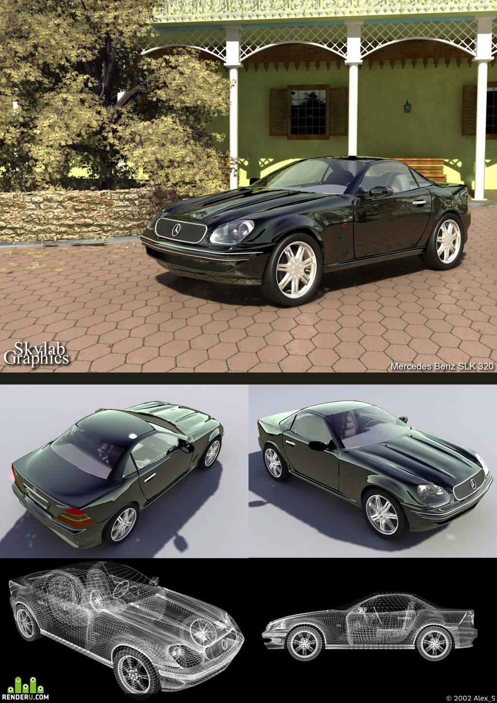 preview Mercedes Benz SLK 320