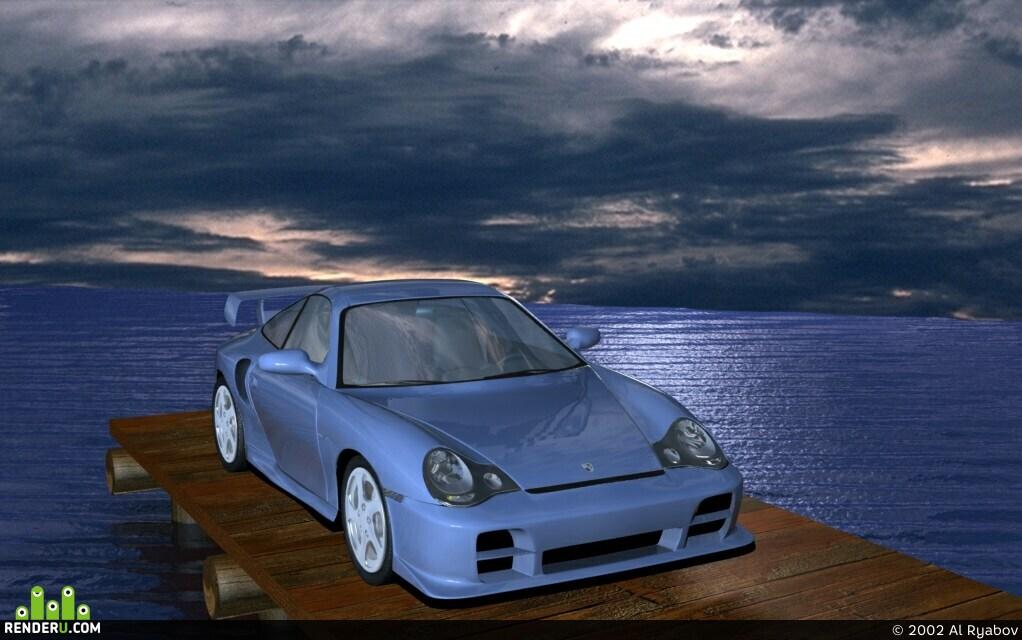 preview Porsche 911 GT2 2001