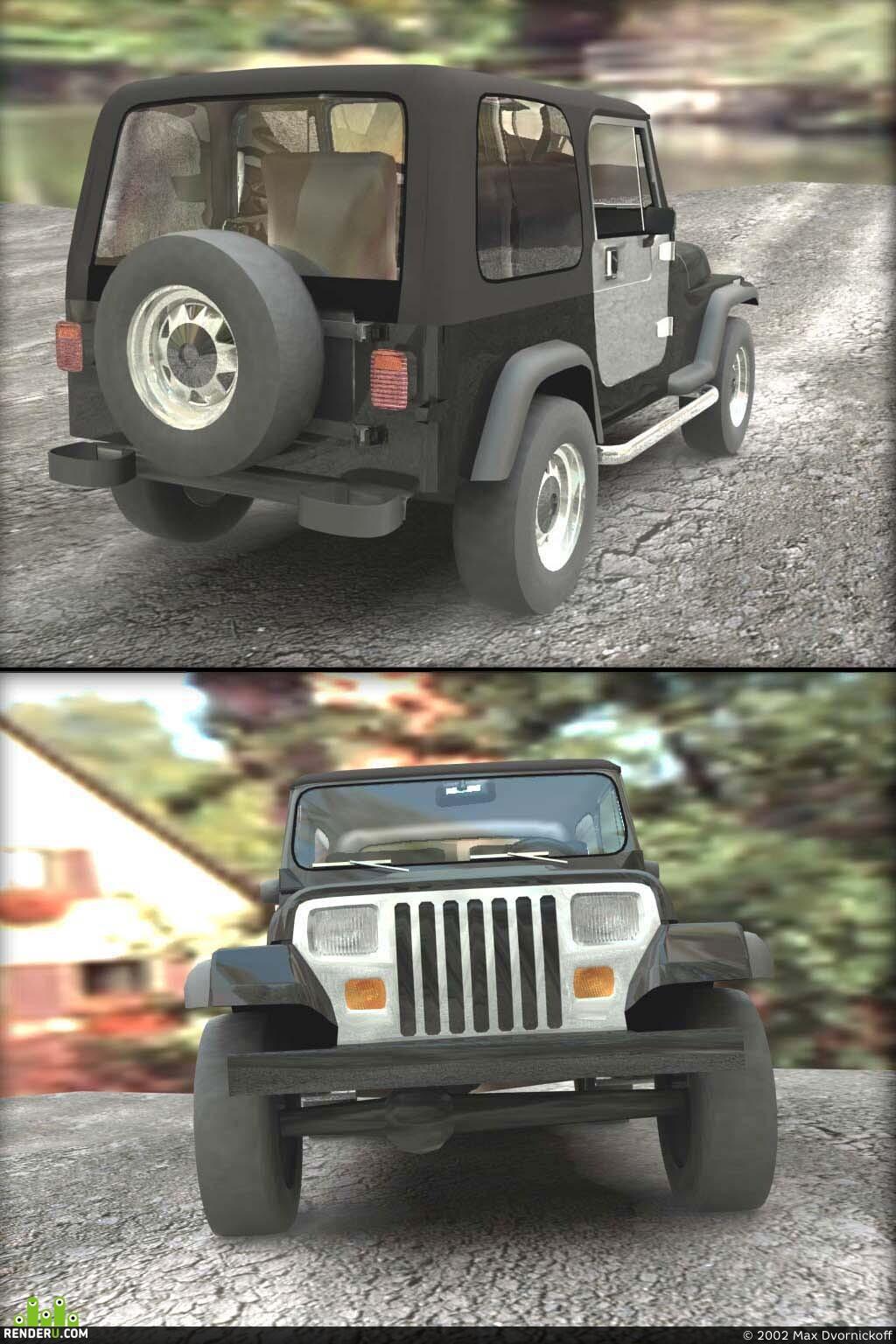 preview FR Jeep Wrangler