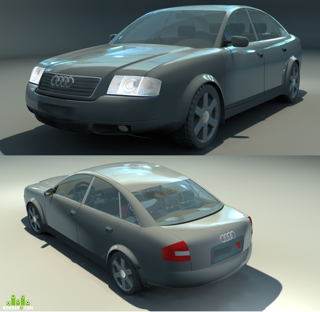 preview Audi Quattro A6