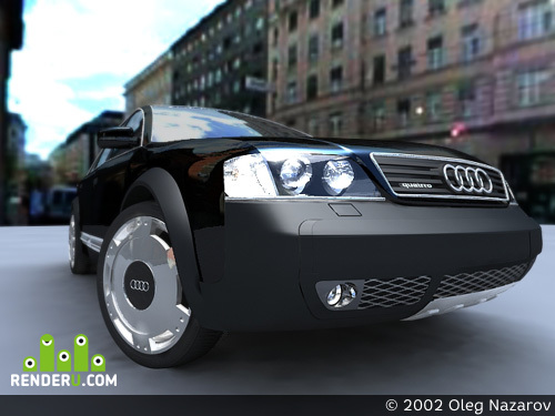 preview Audi Allroad