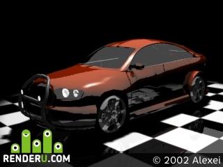 preview Prototype car pyro
