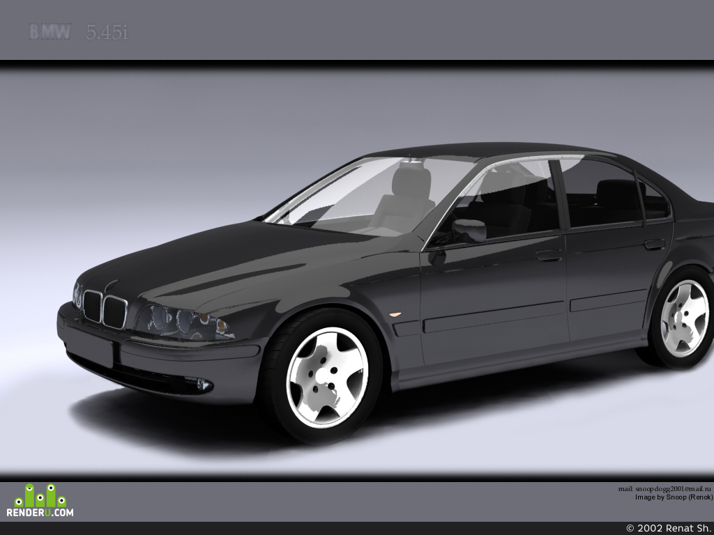 preview BMW 5.45i
