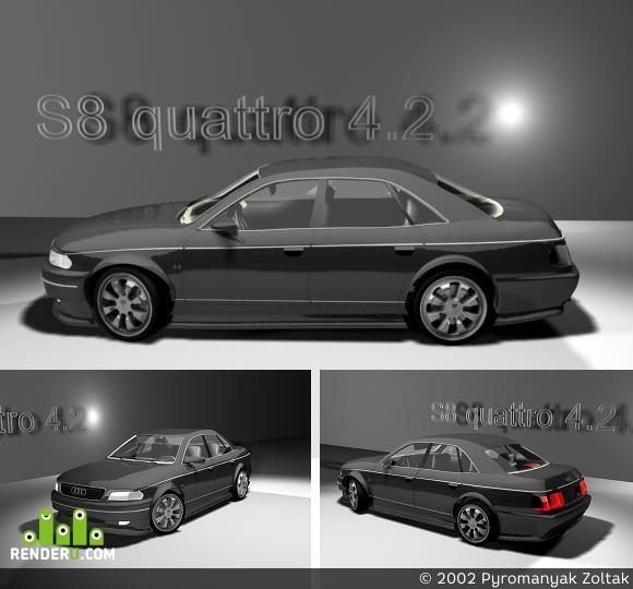 preview AUDI S8 quattro 4.2
