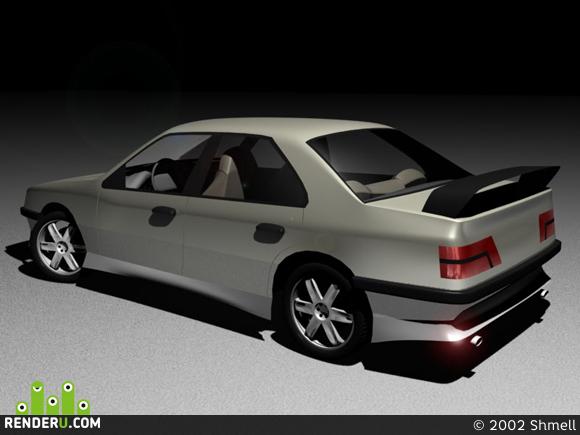 preview Peugeot 405 Sport Variation