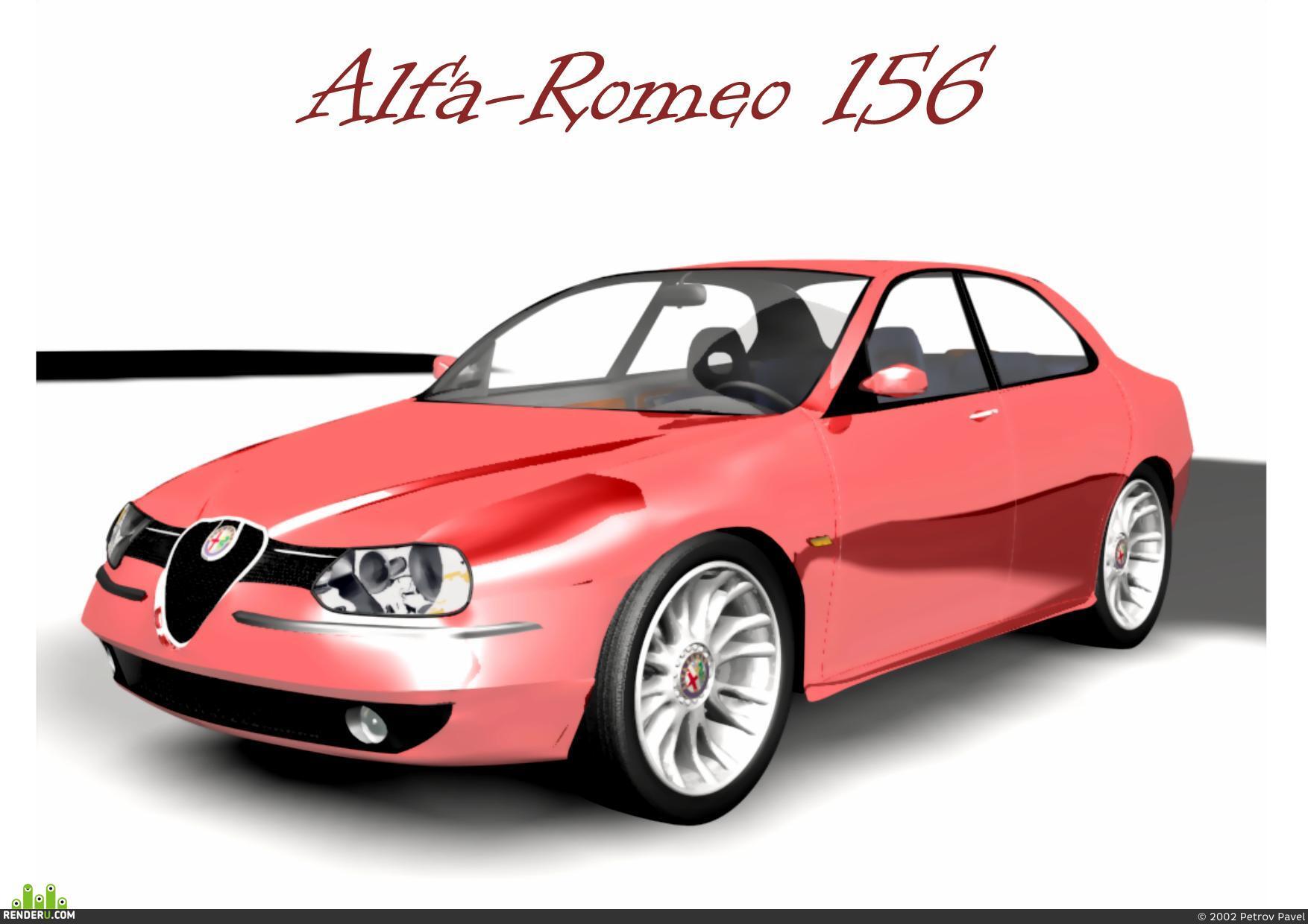 preview Alfa-Romeo 156 (версия 2.0)