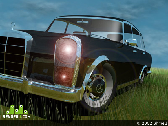 preview Mercedes 600 1973