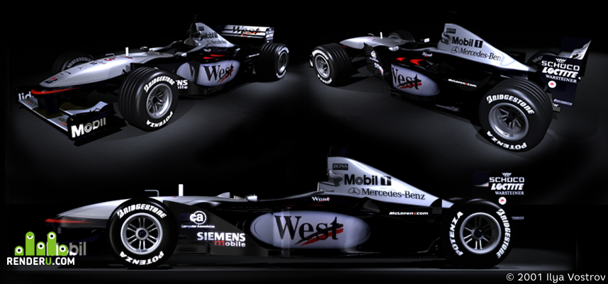 preview West McLaren Mercedes MP4-16