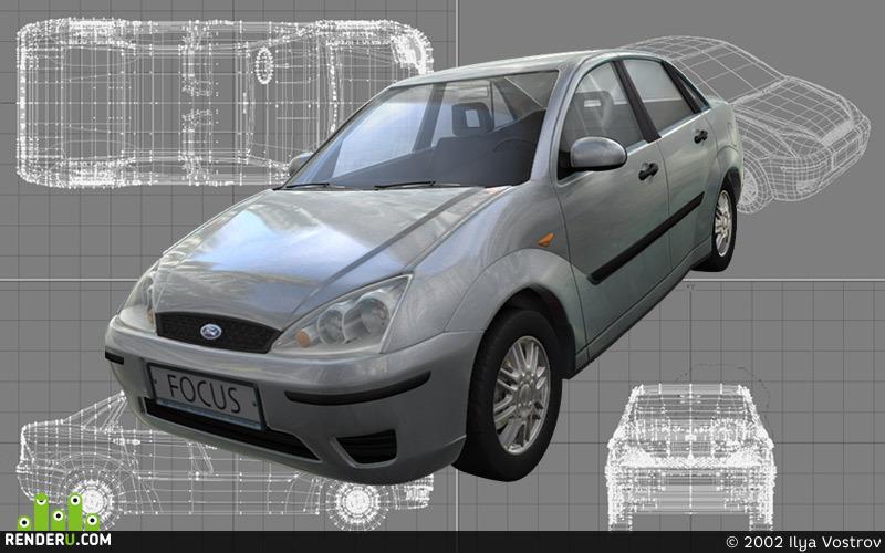 preview Ford Focus модель 2002 года