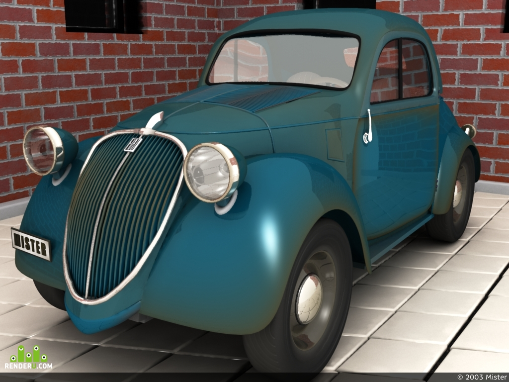 "preview FIAT-500 ""Toppolino"" 1936г."