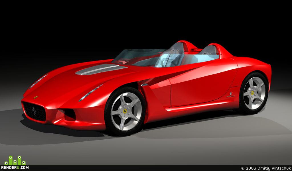 preview Ferrari Rossa
