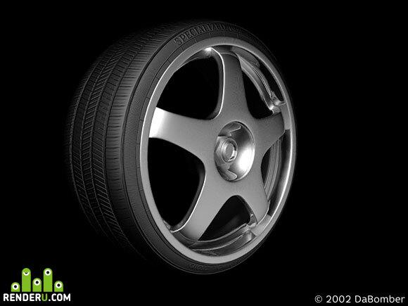 preview alloy wheel