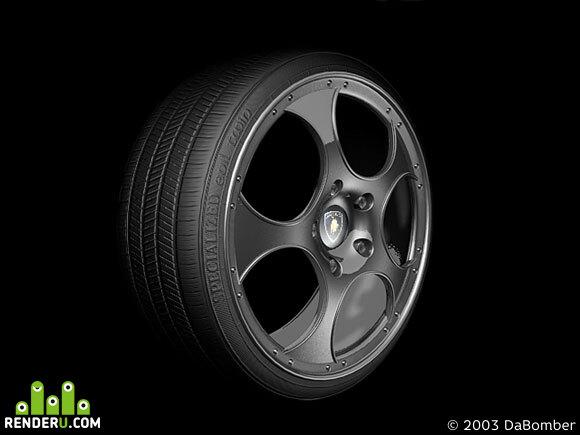 preview Diablo Alloy wheel v2