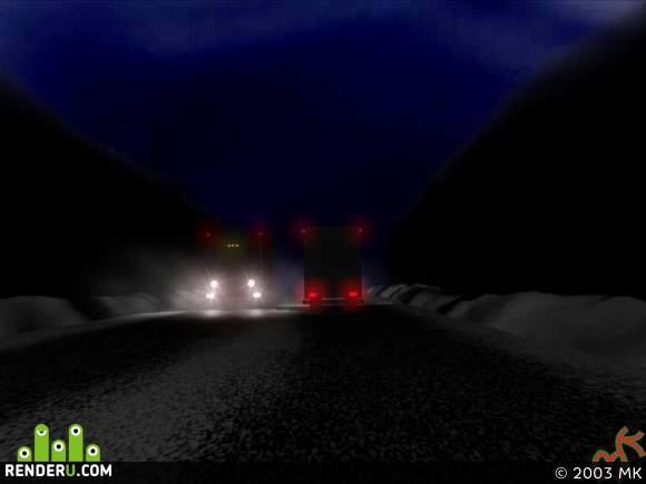 preview Ночная дорога