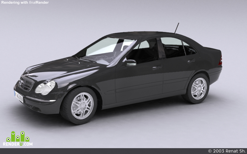 preview Mercedes C - classe