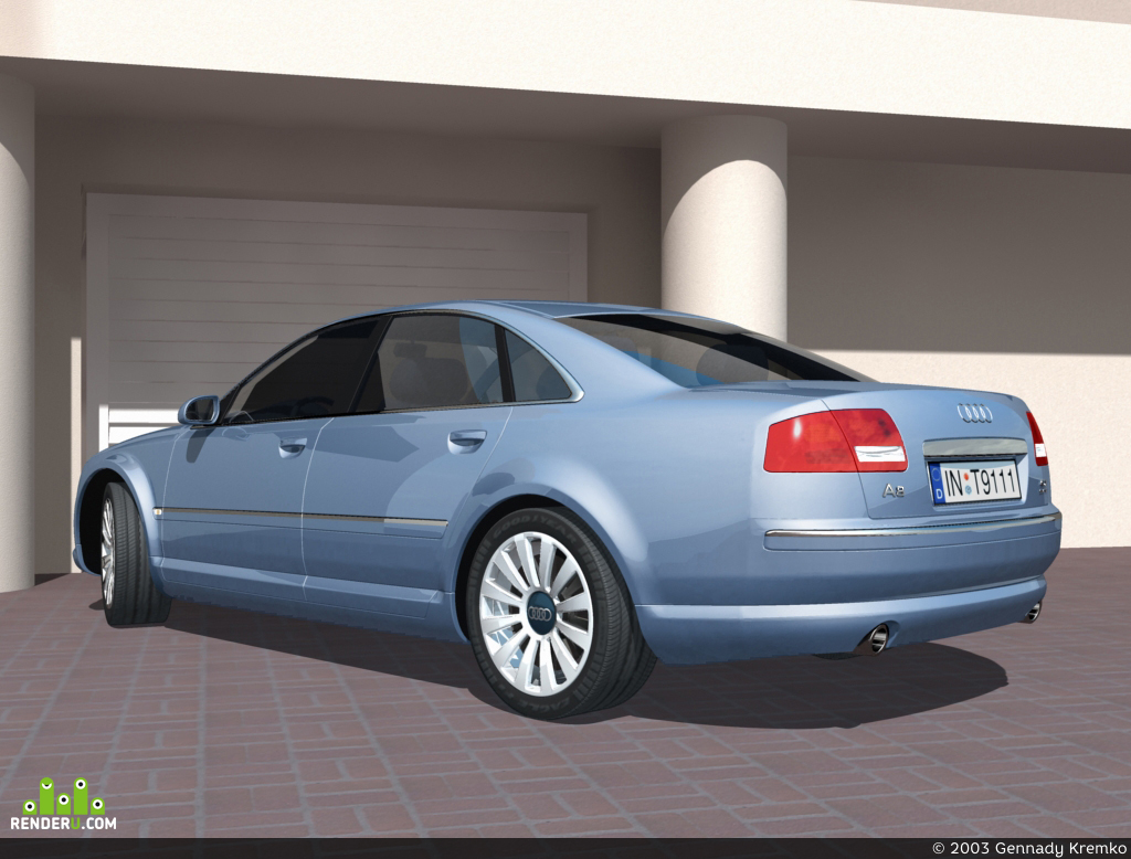 preview Audi A8 NEW!