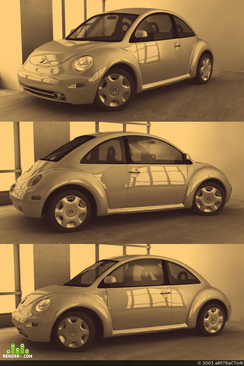 preview Volkswagen New Beetle
