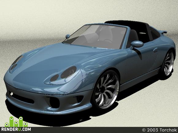 preview Porsche 911 Targa