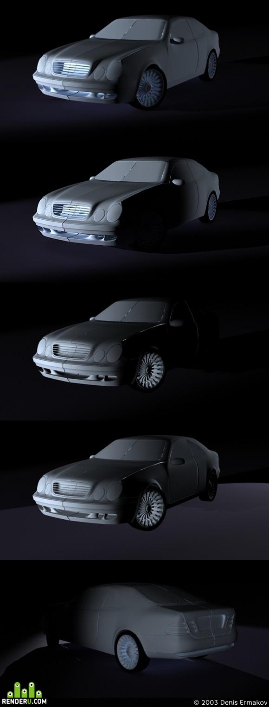 preview Mercedes CLK