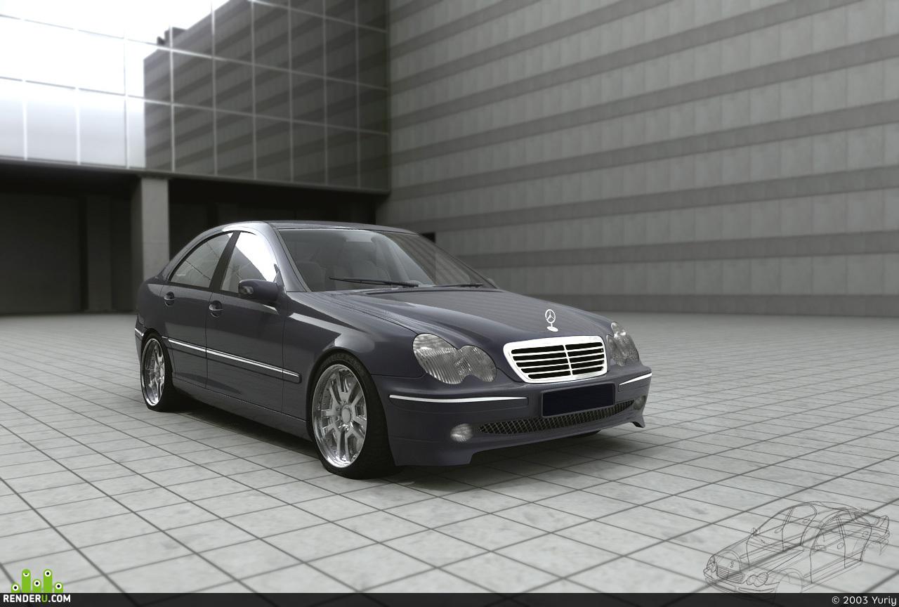 preview Mercedes-Benz C-class finel