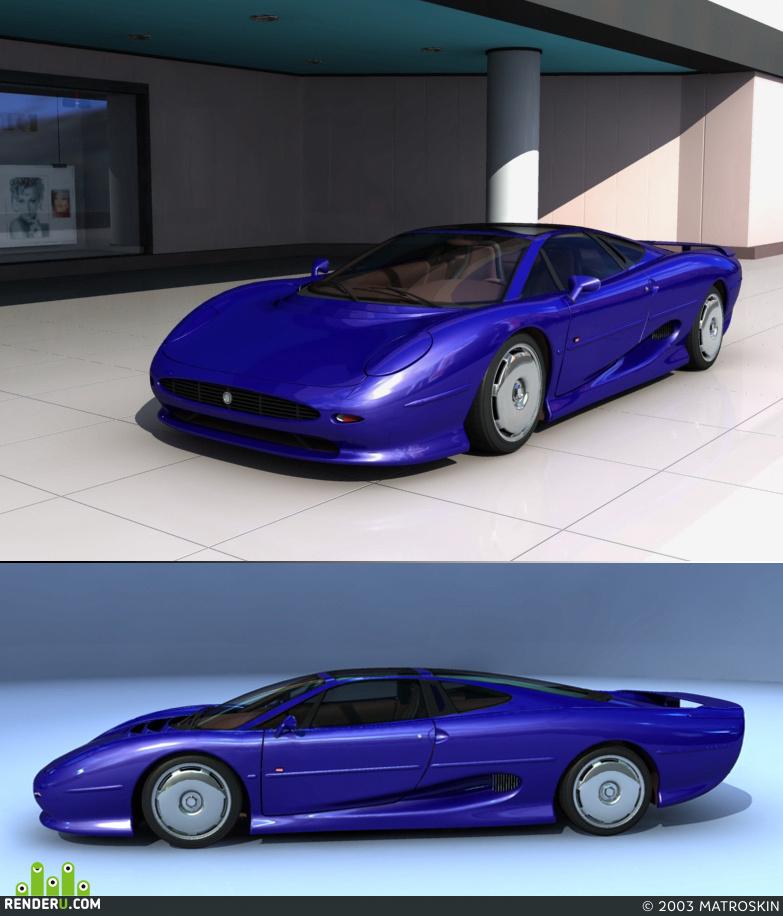 preview Jaguar  XJ 220