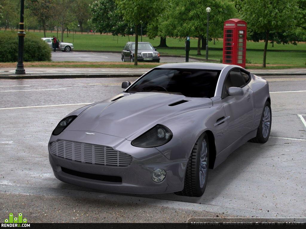 preview Aston Martin Vanquish