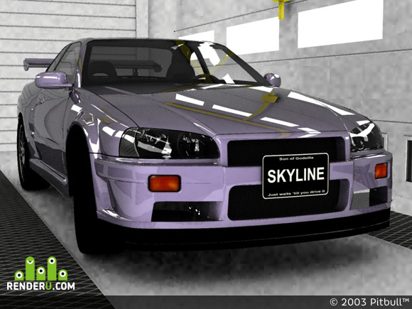 preview Nissan Skyline GTR