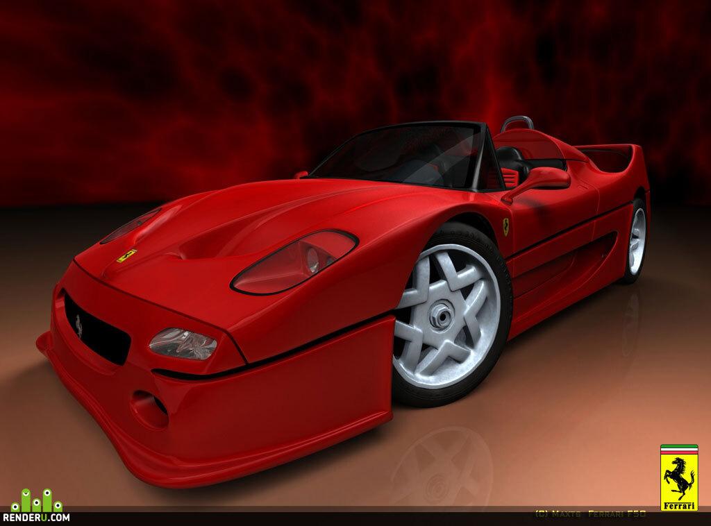 preview Ferrari F50