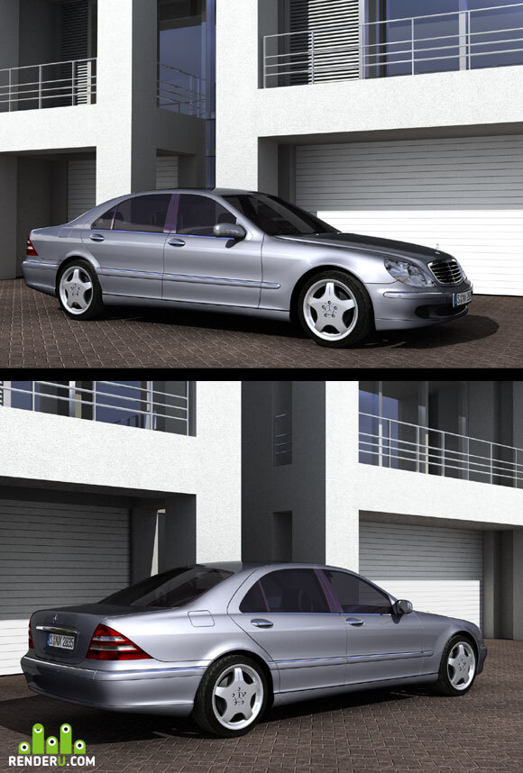 preview Mercedes S