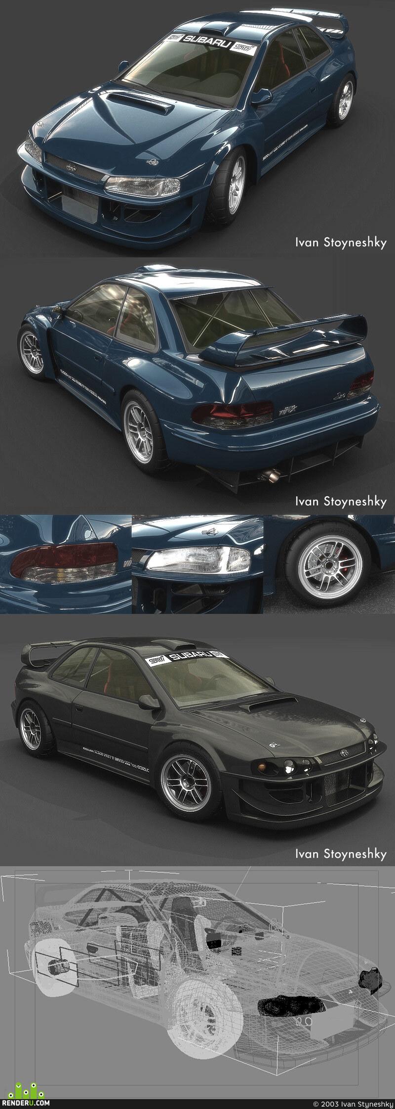 preview Subaru Impreza (custom tuning)