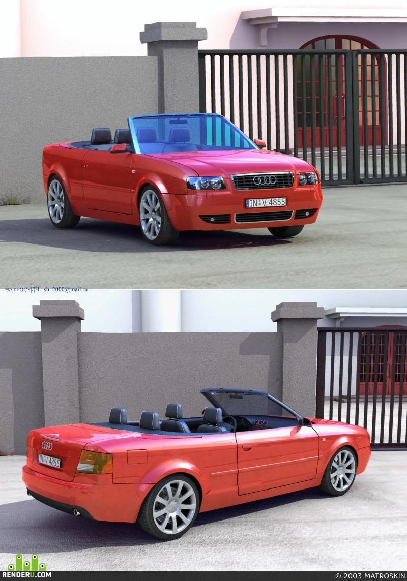 preview Audi A4 Cabriolet